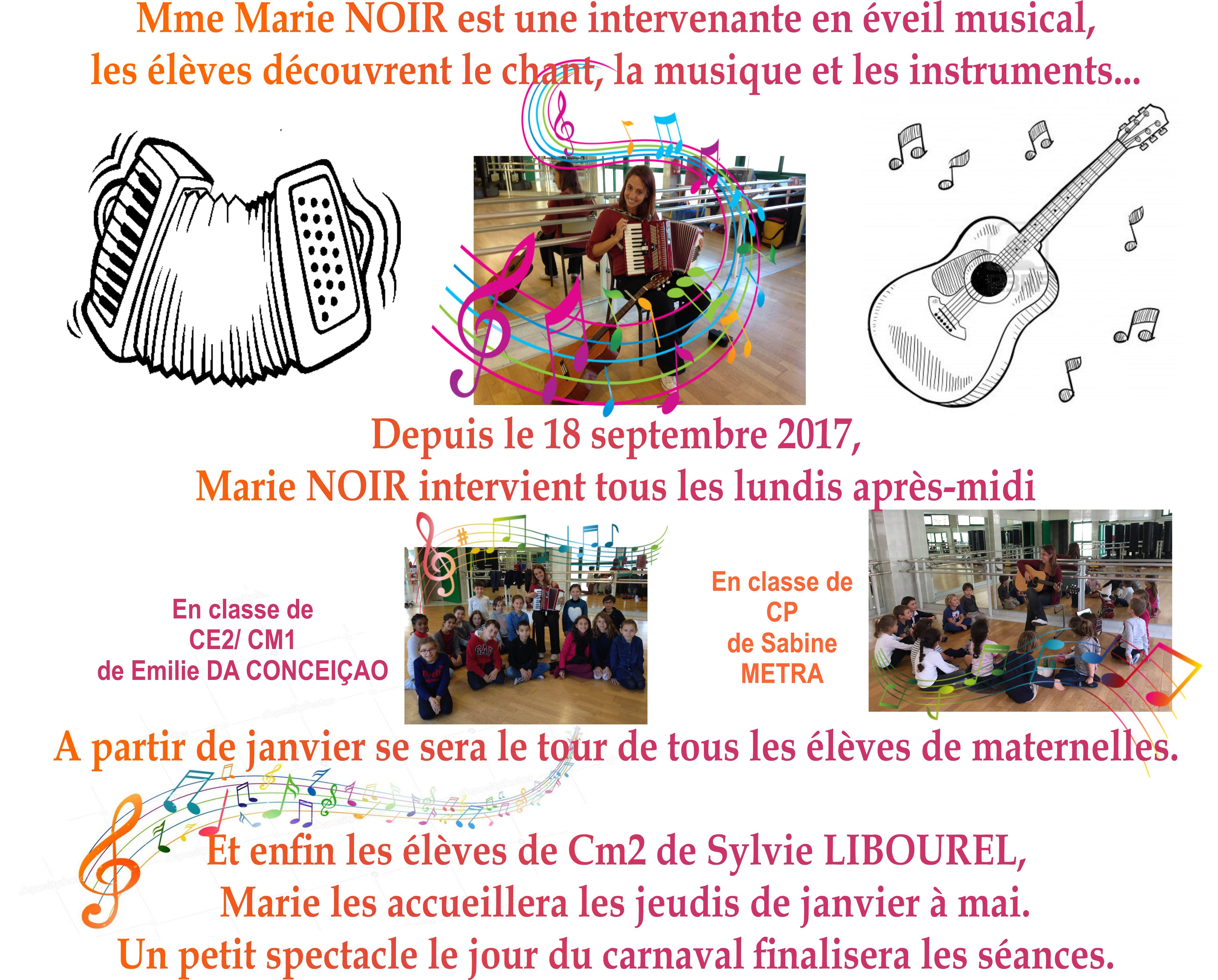 Musique pour les élèves de Primaires