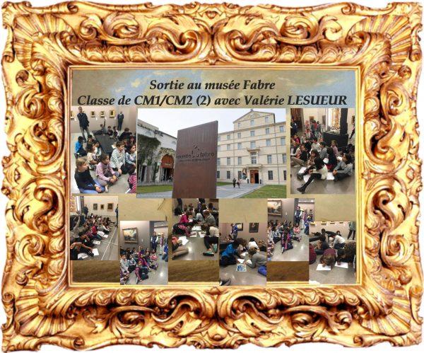 Visite au musée FABRE des élèves de CM1/CM2(2) de Valérie LESUEUR