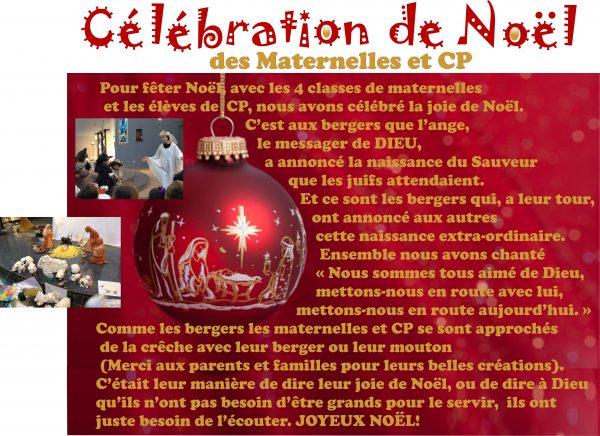 celebration maternelles cp 19 12 2017