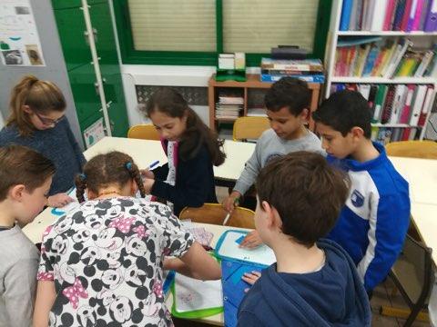Escape Game en CM1/ CM2(2) avec Mme Valérie LESUEUR