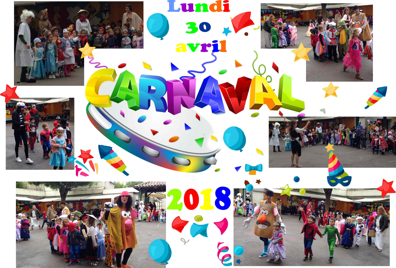 CARNAVAL lundi 30 avril 2018