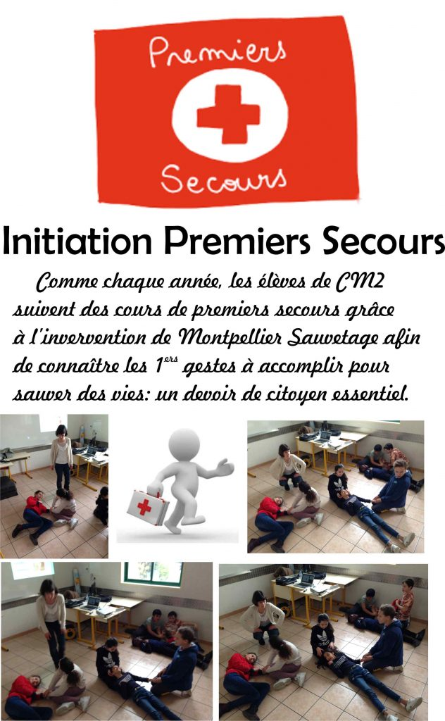 Premiers Secours pour CM2