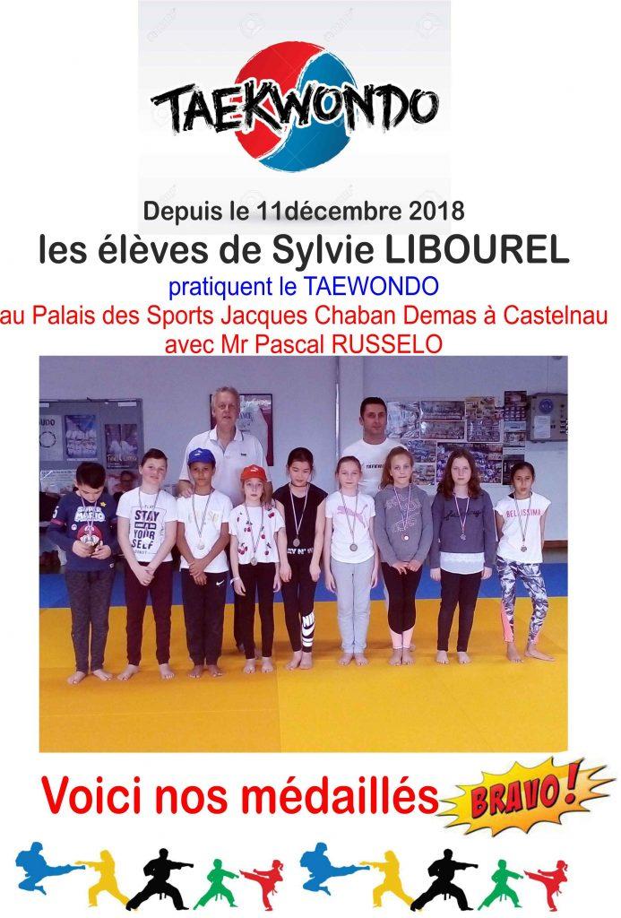 Les médaillés de la Classe de CM2 de Mme LIBOUREL