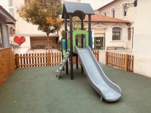 L'aire de jeux en maternelle
